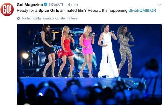 Le spice girls diventeranno un gruppo di supereroine