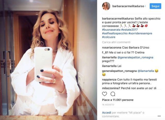 Barbara D'Urso e Gerard Butler, nuovo amore per la conduttrice napoletana