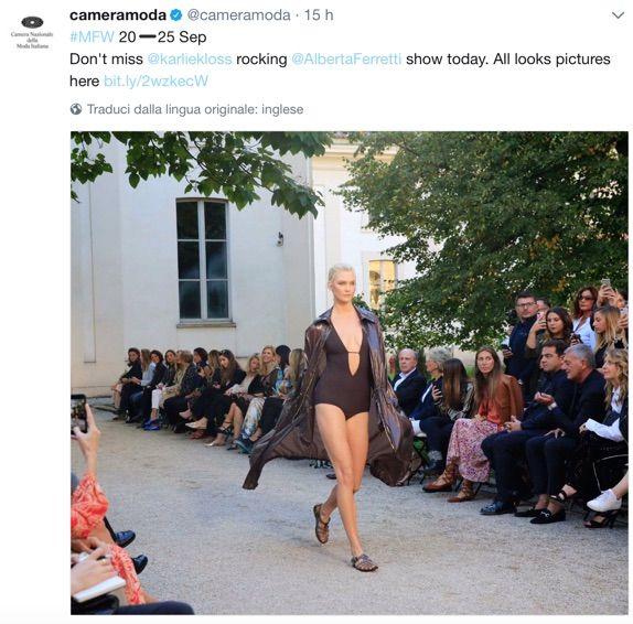 Camera Moda Calendario.Milano Fashion Week Al Via La Settimana Della Moda What S
