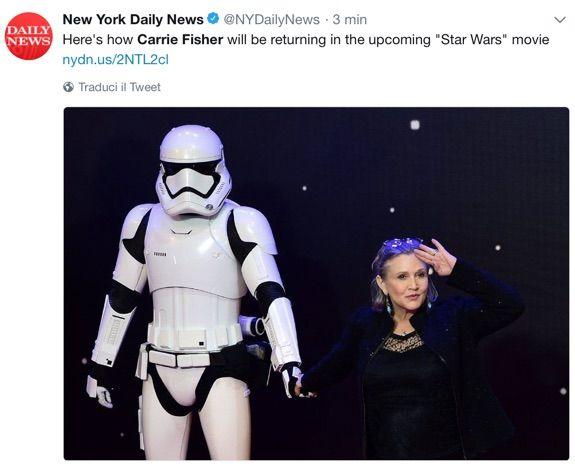 Star Wars: Episodio IX, ecco il cast ufficiale del film