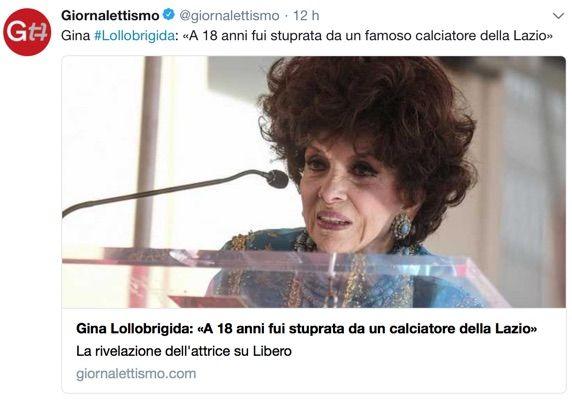 Gina Lollobrigida shock: