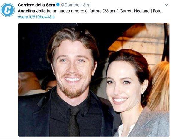 Angelina Jolie ha un nuovo fidanzato: ecco chi è il fortunato!
