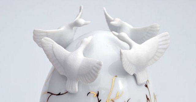 Uova Di Pasqua Ceramica.Queste Uova Di Pasqua Di Ceramiche Non Si Possono Mangiare What S