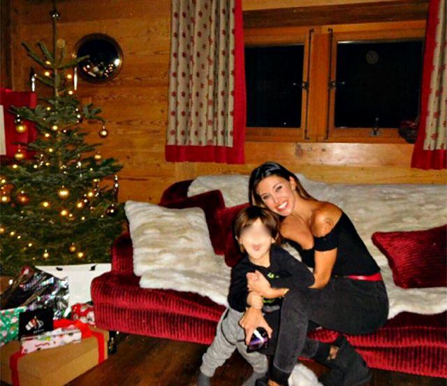 Belen Rodriguez e Stefano De Martino la famiglia si riunisce
