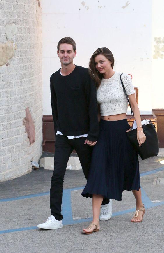 Miranda kerr si fidanza con il fondatore di snapchat evan - Evan spiegel miranda kerr ...