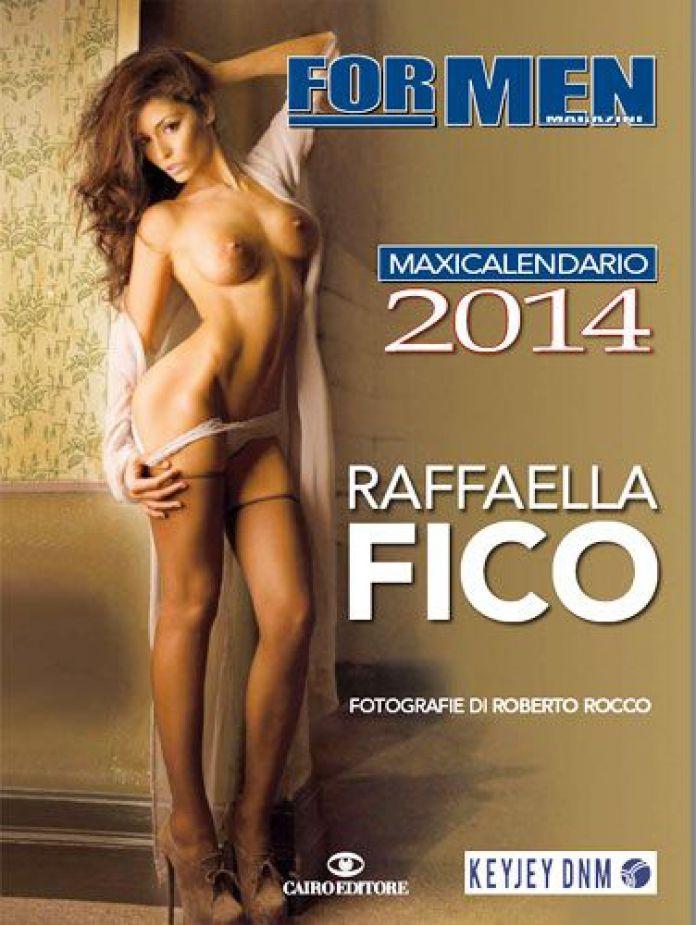 Raffaella Calendario.Raffaella Fico Protagonista Del Calendario 2014 Di For Men
